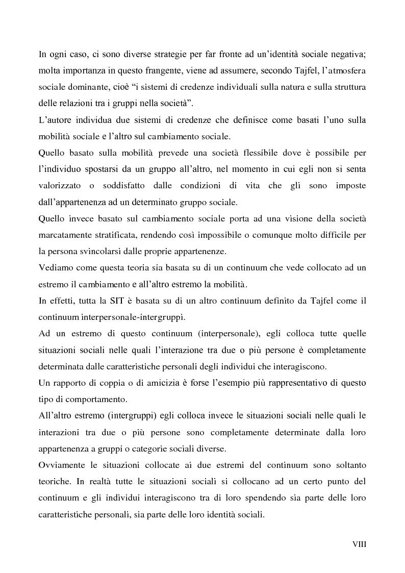Anteprima della tesi: La dimensione etnica dell'identità sociale attraverso il contributo di Fethi Benslama, Pagina 8