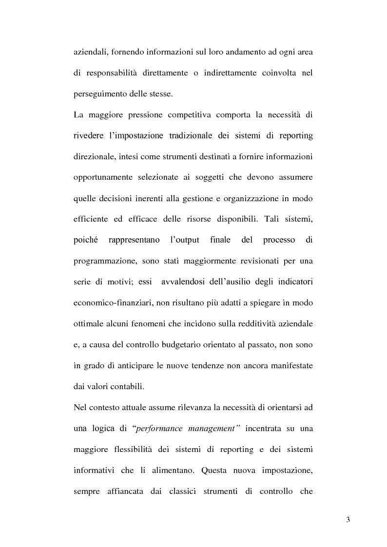 Anteprima della tesi: L'evoluzione dei sistemi informativi e di controllo aziendali, Pagina 3