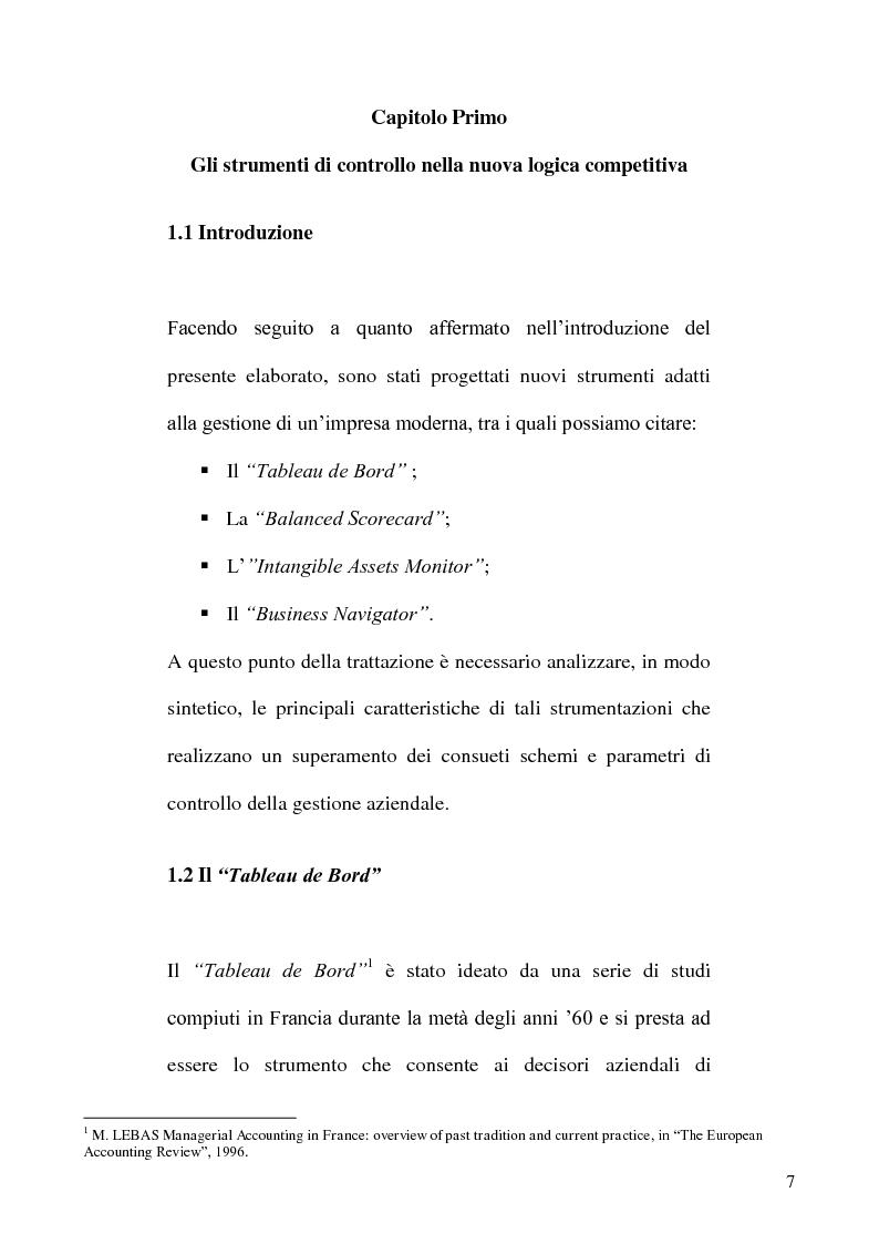 Anteprima della tesi: L'evoluzione dei sistemi informativi e di controllo aziendali, Pagina 7