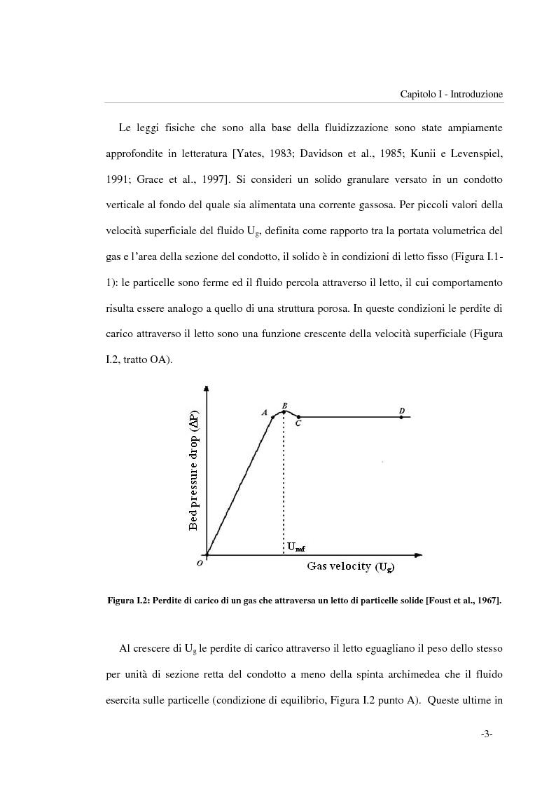 Anteprima della tesi: Frammentazione per impatto di particelle di sorbente riattivato impiegato per la desolforazione in situ in combustori a letto fluidizzato, Pagina 3