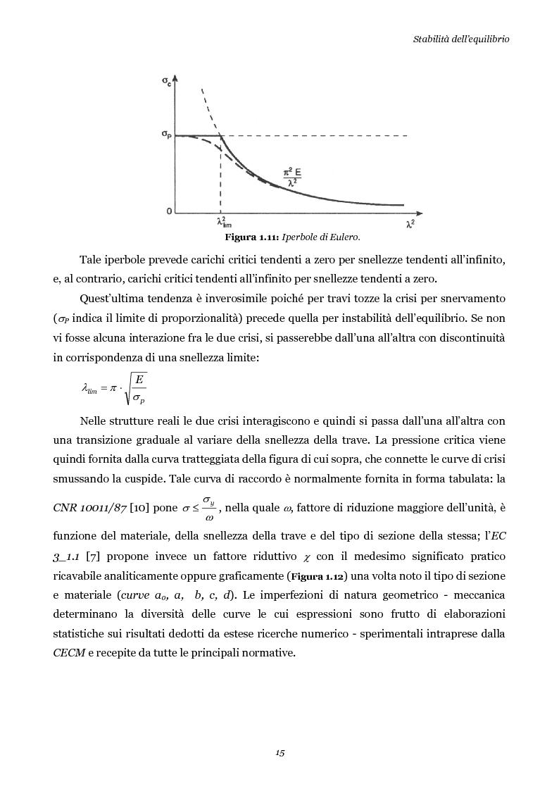Anteprima della tesi: Influenza della geometria di flange e irrigidimenti sulla stabilità delle anime di travi da ponte, Pagina 15