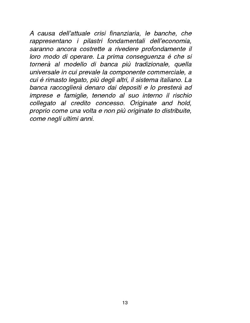 Anteprima della tesi: Cause, conseguenze e primi rimedi dell'attuale crisi finanziaria, Pagina 8