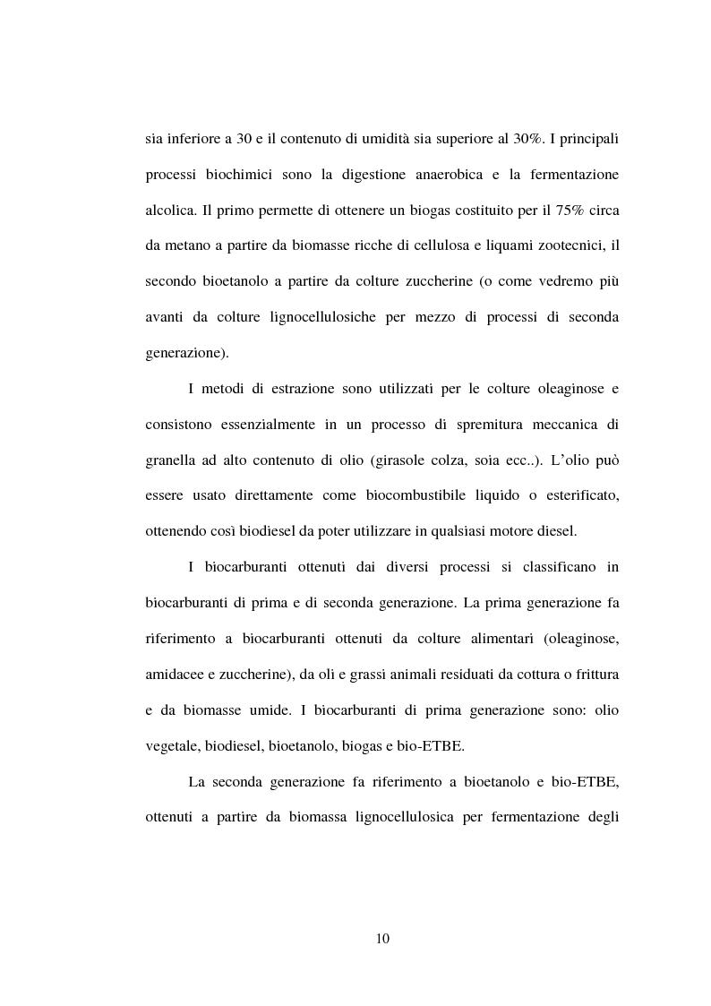 Anteprima della tesi: Ricerche sperimentali sulla propagazione di Arundo donax, Pagina 10