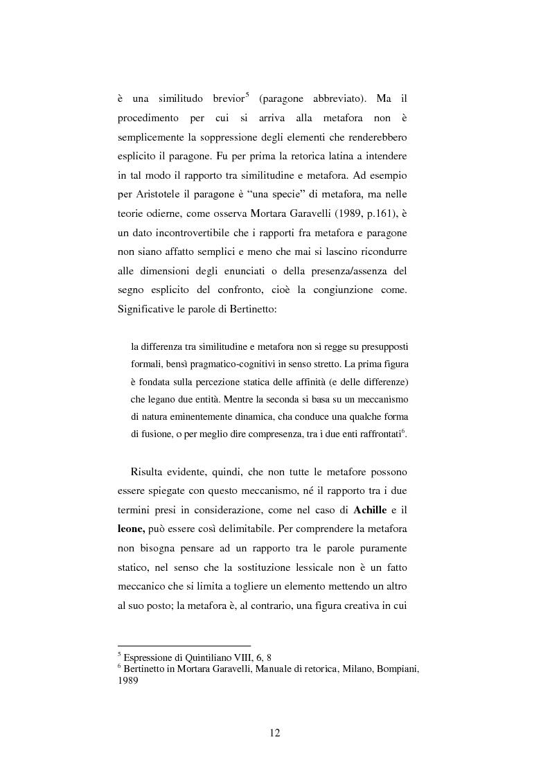 Anteprima della tesi: Le figure retoriche in pubblicità. Teoria e applicazione al quadrato semiotico di Floch., Pagina 8