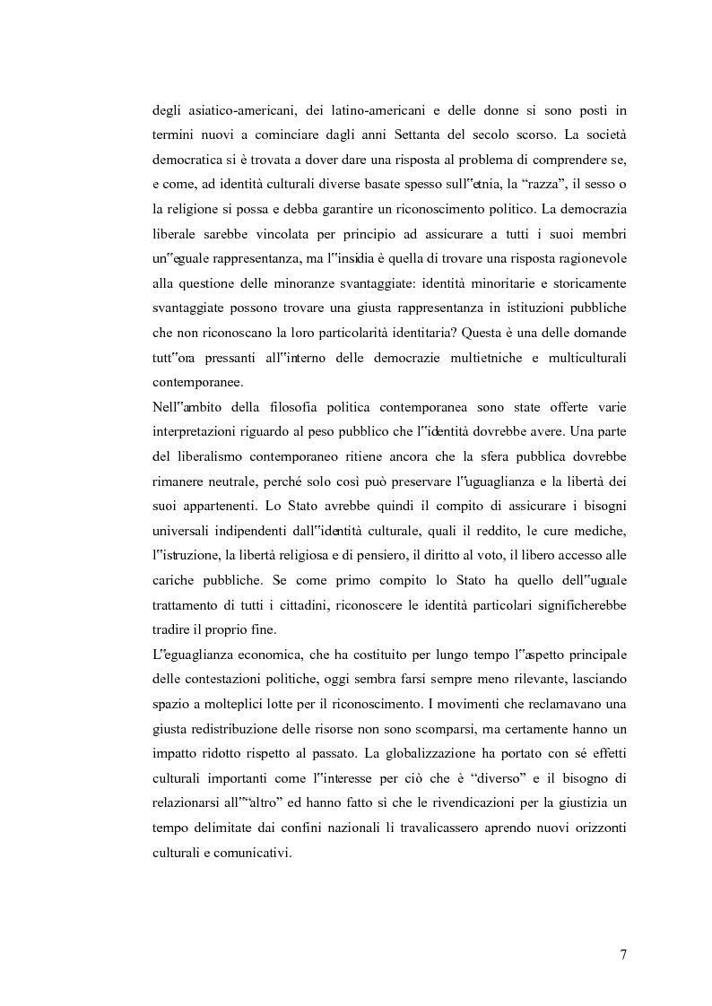 Anteprima della tesi: Redistribuzione e riconoscimento in Nancy Fraser, Pagina 2