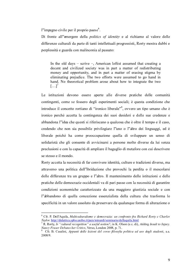 Anteprima della tesi: Redistribuzione e riconoscimento in Nancy Fraser, Pagina 4