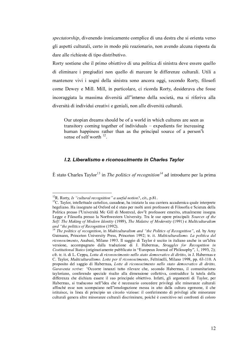 Anteprima della tesi: Redistribuzione e riconoscimento in Nancy Fraser, Pagina 7