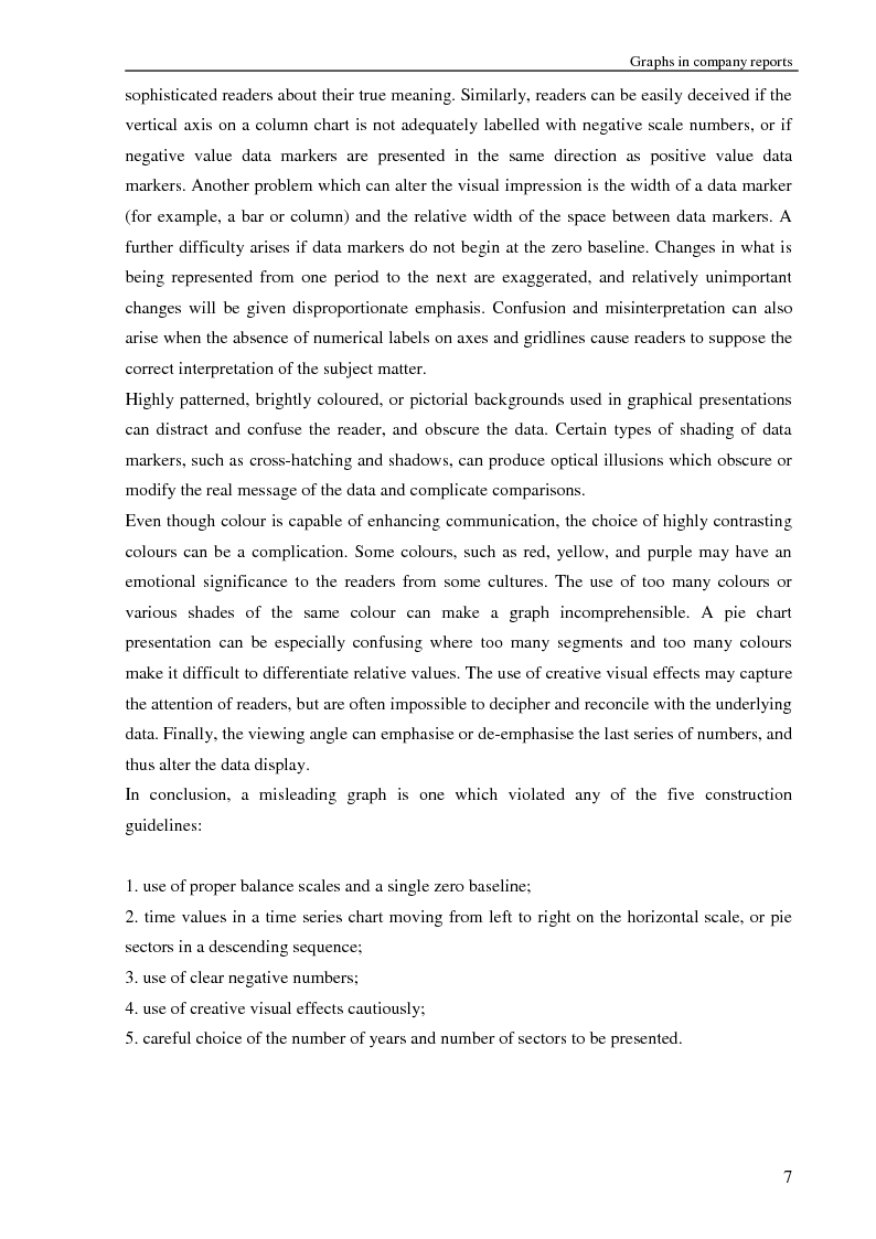 Anteprima della tesi: Selectivity and Measurement Distortion of Graphs in Sustainability Reports: A Comparative Study, Pagina 8