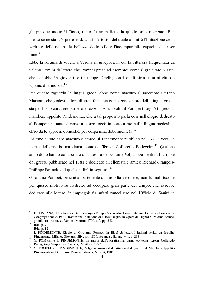Anteprima della tesi: Lettera di François Philippe Brunck a Girolamo Pompei, Pagina 4