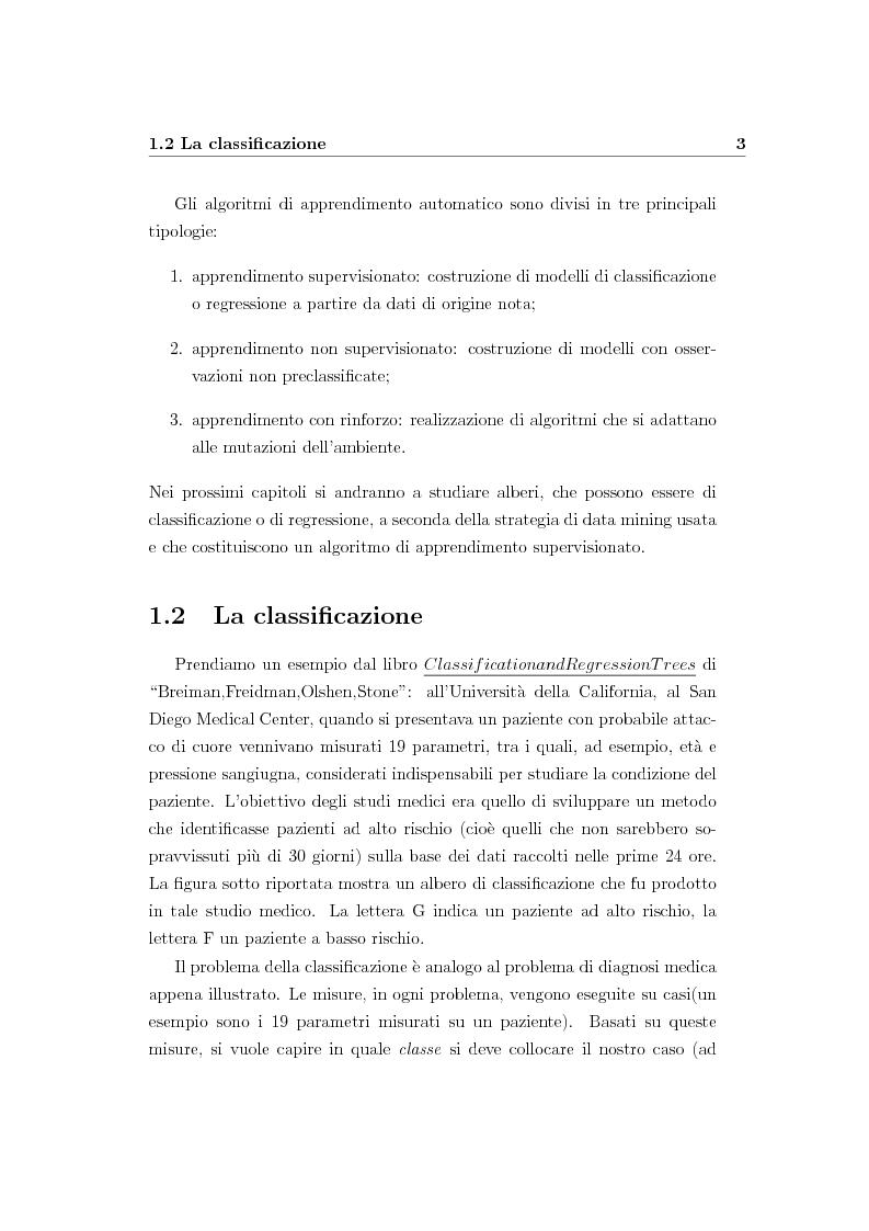 Anteprima della tesi: Alberi di regressione e classificazione, Pagina 4