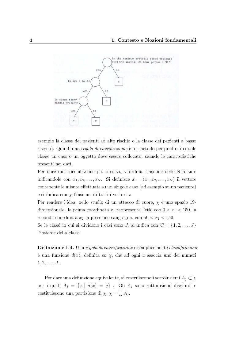 Anteprima della tesi: Alberi di regressione e classificazione, Pagina 5