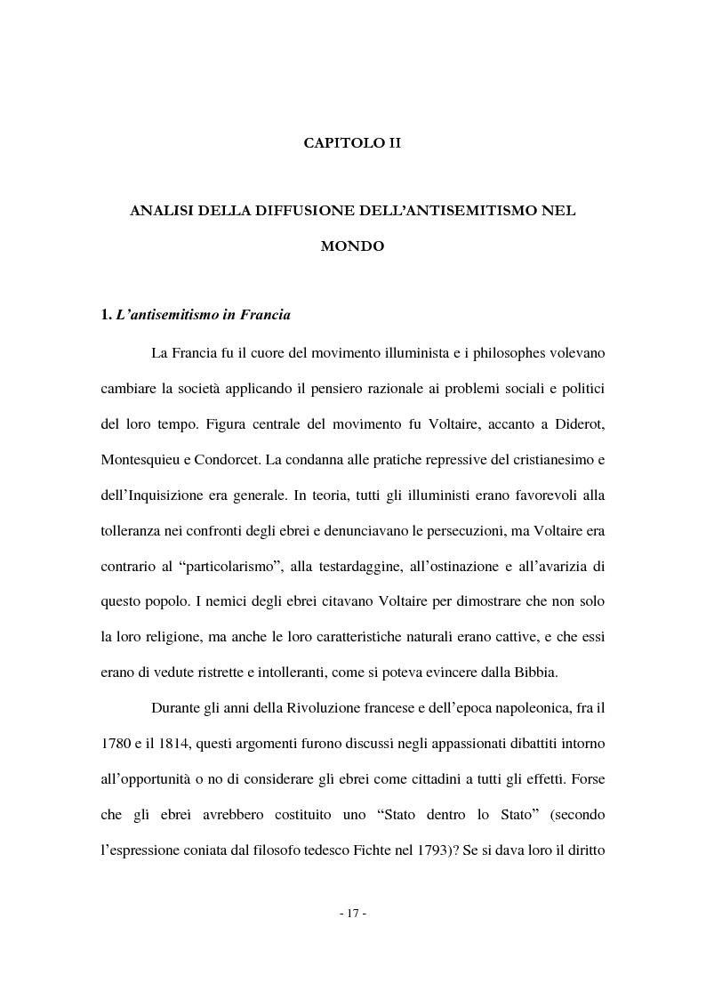 Anteprima della tesi: I Protocolli dei Savi anziani di Sion: storia di un falso antisemita nell'Europa del Novecento, Pagina 15