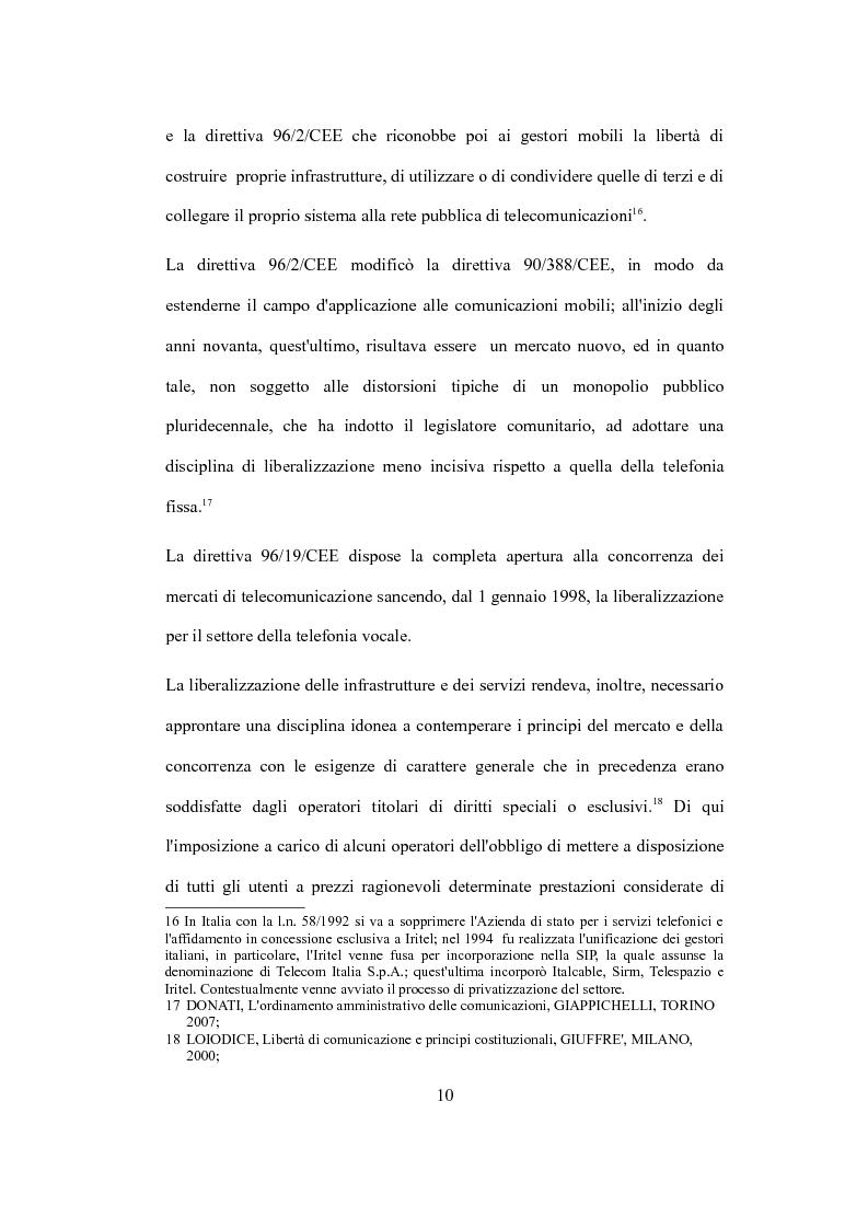 """Anteprima della tesi: La valutazione del capitale economico di una impresa """"internet"""". Il caso Italia Online S.r.l., Pagina 10"""