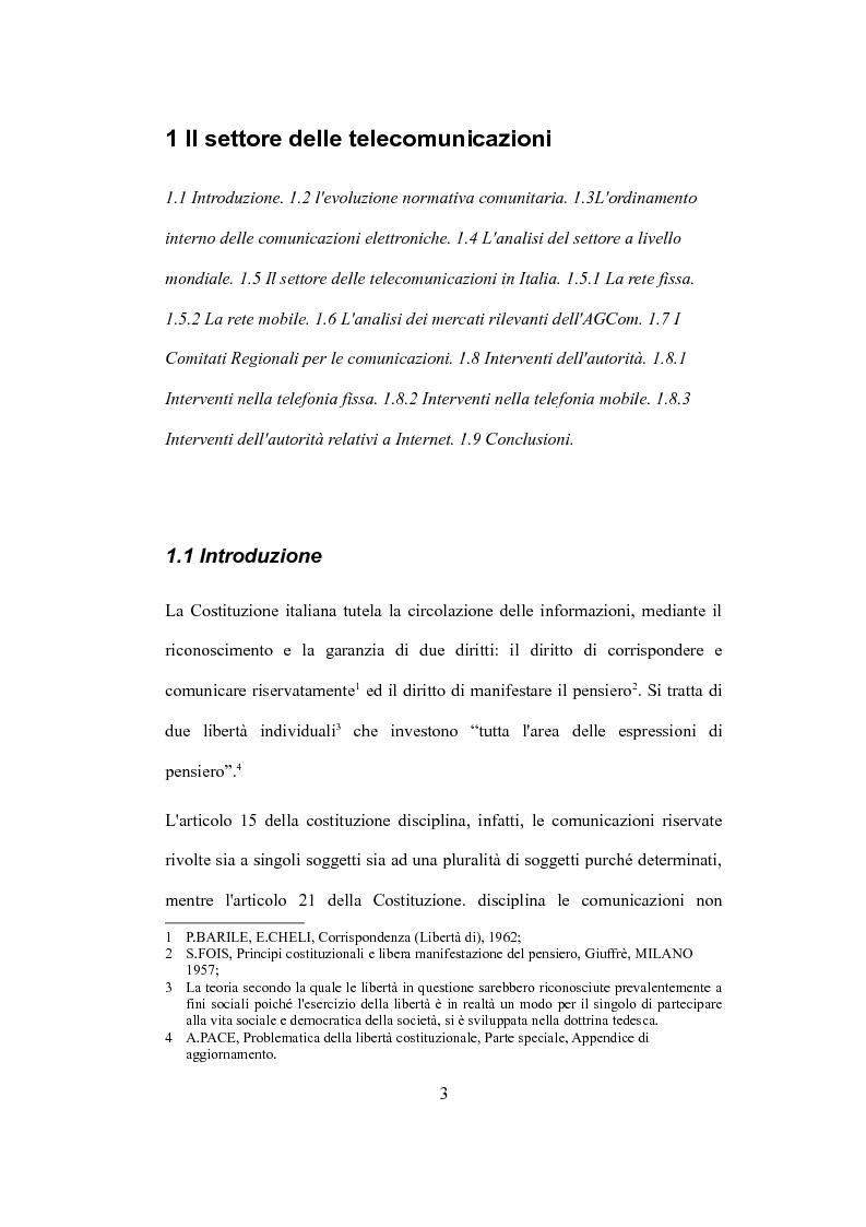 """Anteprima della tesi: La valutazione del capitale economico di una impresa """"internet"""". Il caso Italia Online S.r.l., Pagina 3"""