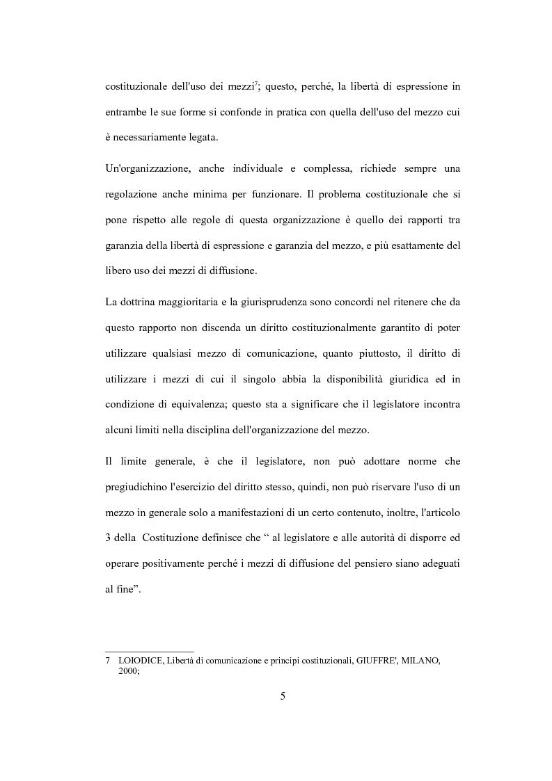 """Anteprima della tesi: La valutazione del capitale economico di una impresa """"internet"""". Il caso Italia Online S.r.l., Pagina 5"""
