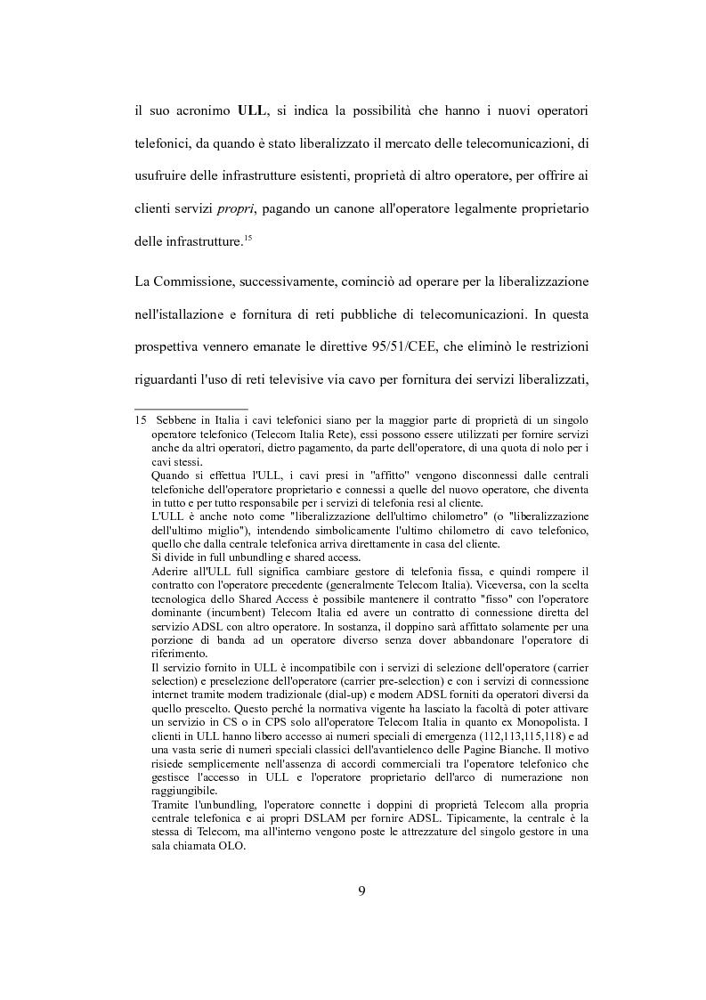 """Anteprima della tesi: La valutazione del capitale economico di una impresa """"internet"""". Il caso Italia Online S.r.l., Pagina 9"""