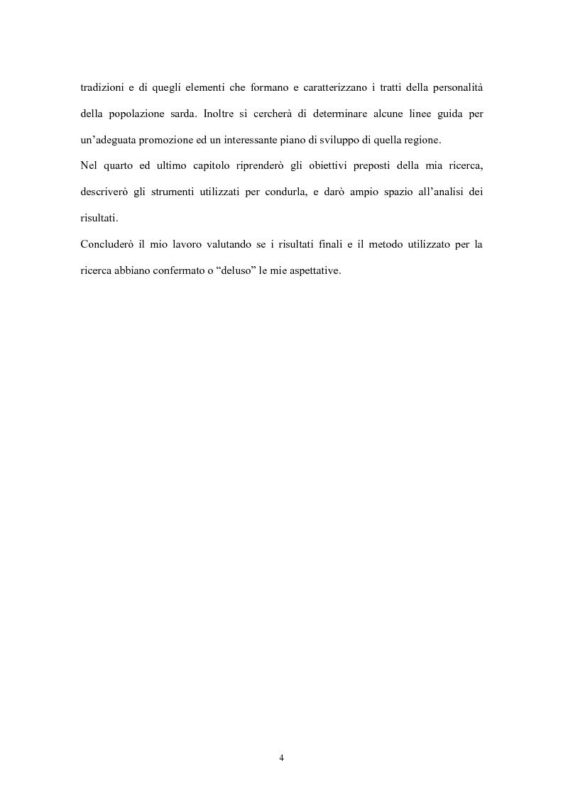 Anteprima della tesi: Psicologia del turismo: il rapporto tra turisti e residenti. Il caso Sardegna., Pagina 2