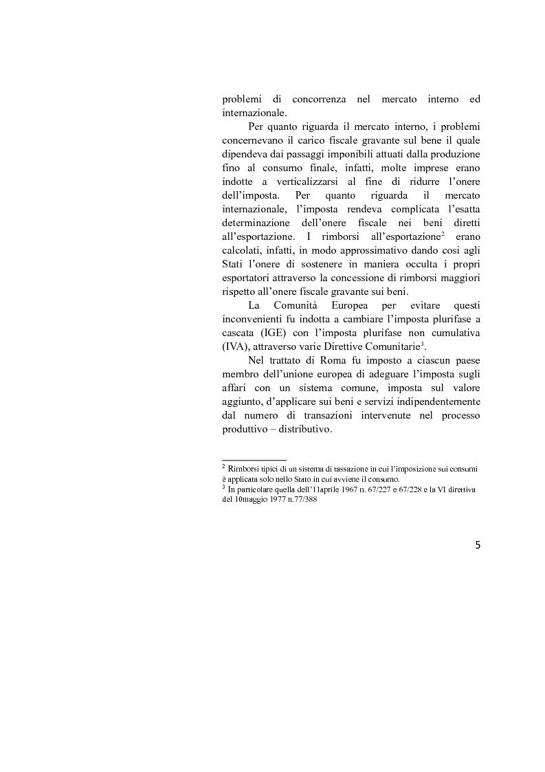 Anteprima della tesi: La disciplina IVA del Reverse Charge, Pagina 3