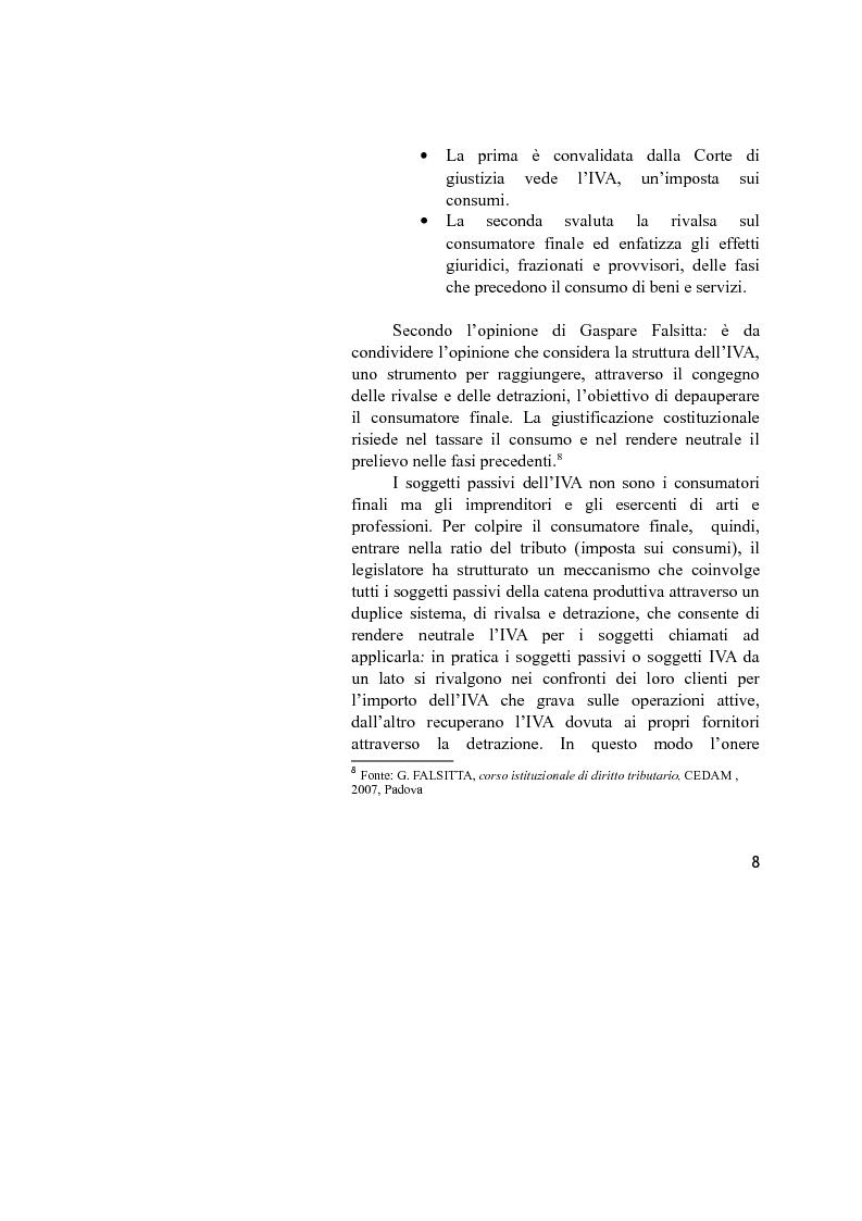 Anteprima della tesi: La disciplina IVA del Reverse Charge, Pagina 6