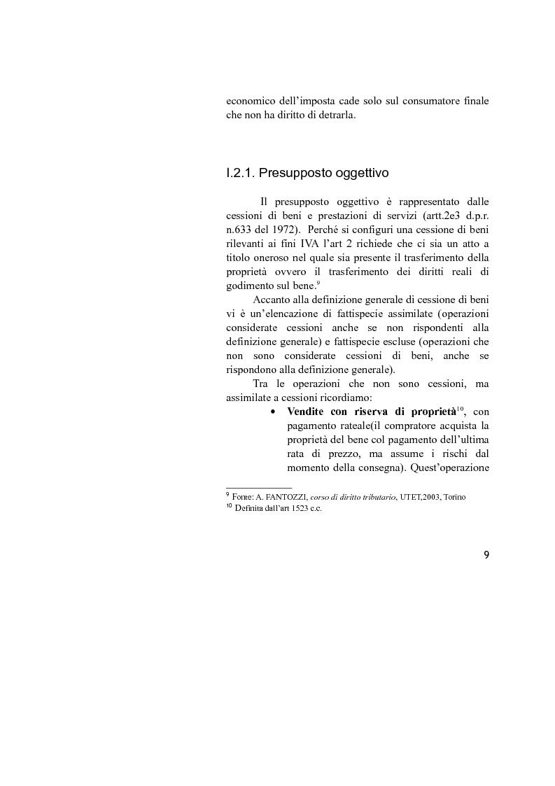 Anteprima della tesi: La disciplina IVA del Reverse Charge, Pagina 7