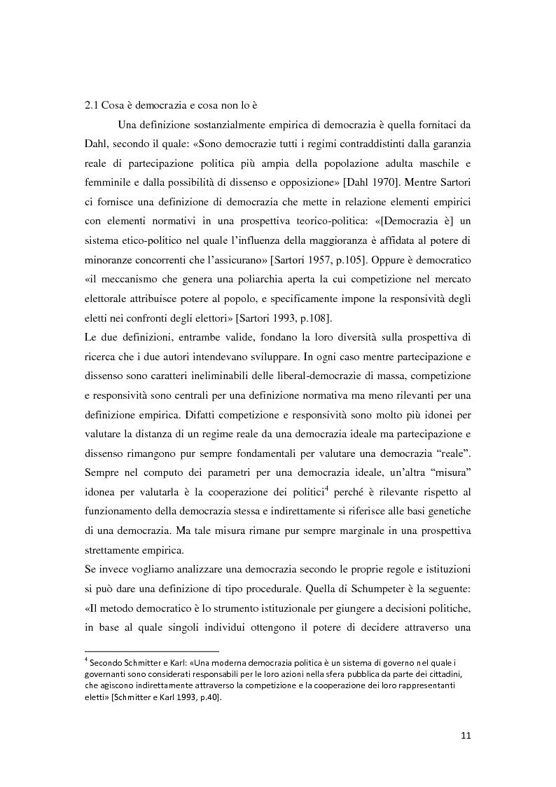 Anteprima della tesi: Verso la democrazia o ritorno all'autoritarismo? La transizione di regime in Russia (1991-2009), Pagina 7