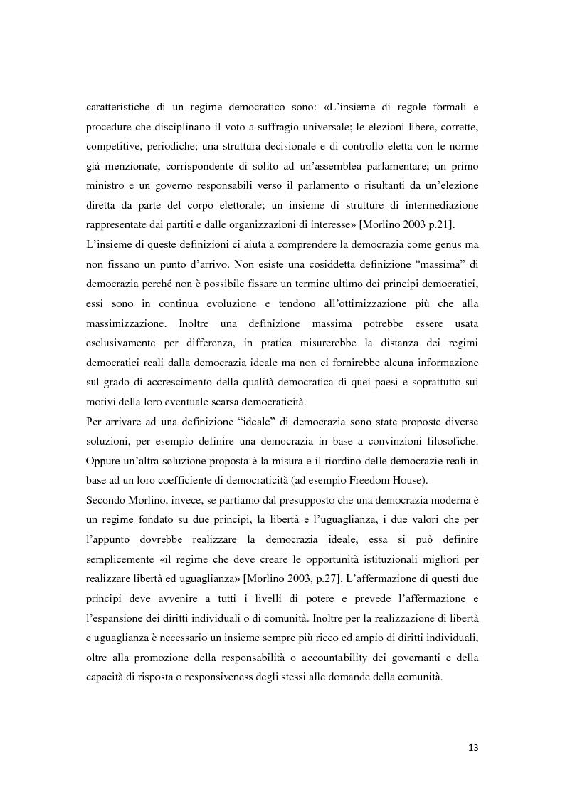 Anteprima della tesi: Verso la democrazia o ritorno all'autoritarismo? La transizione di regime in Russia (1991-2009), Pagina 9