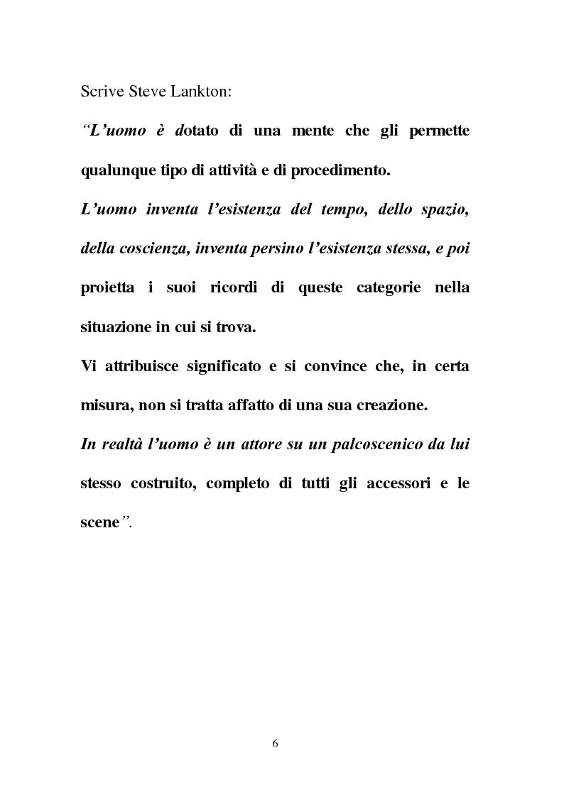 Anteprima della tesi: La Programmazione Neuro Linguistica come modalità di comunicazione efficace, Pagina 6