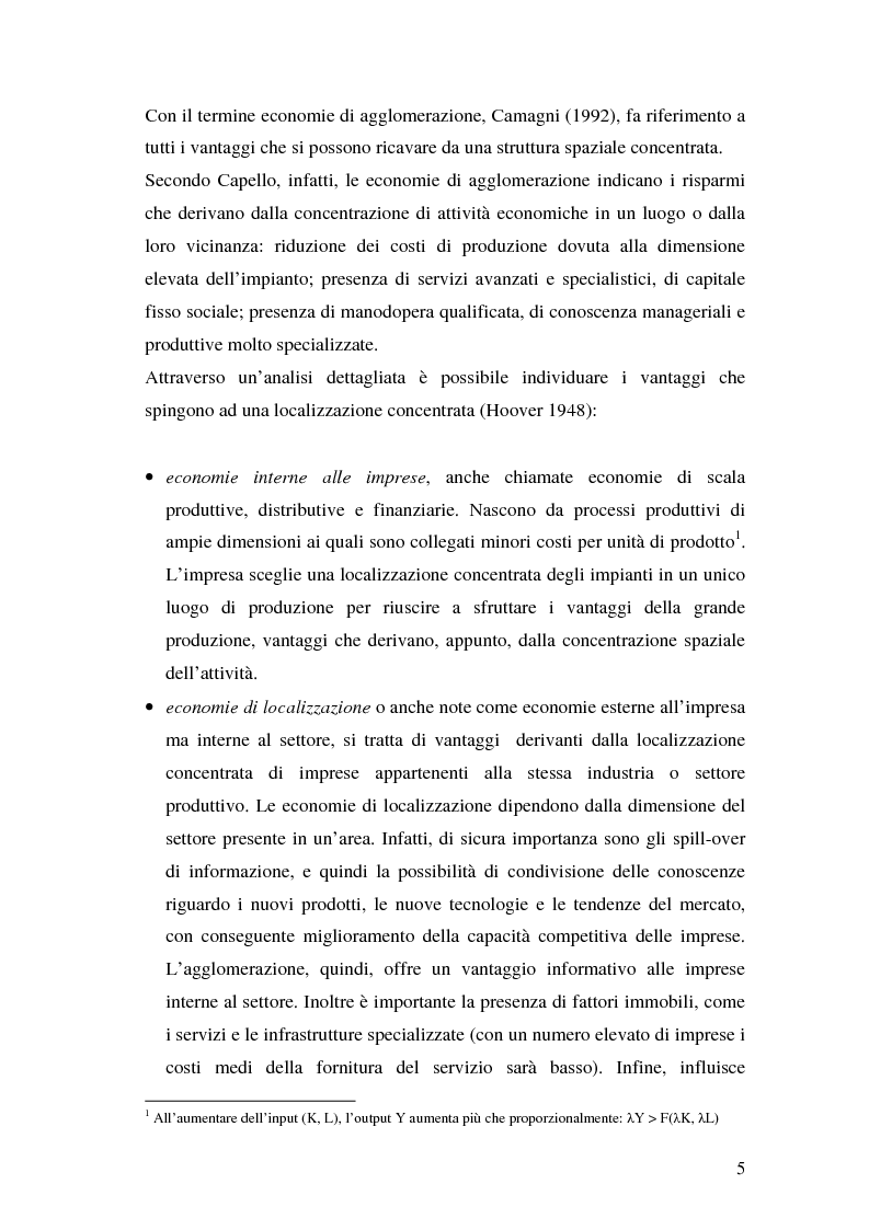 Anteprima della tesi: La teoria della localizzazione e gli investimenti diretti esteri in Italia, Pagina 5