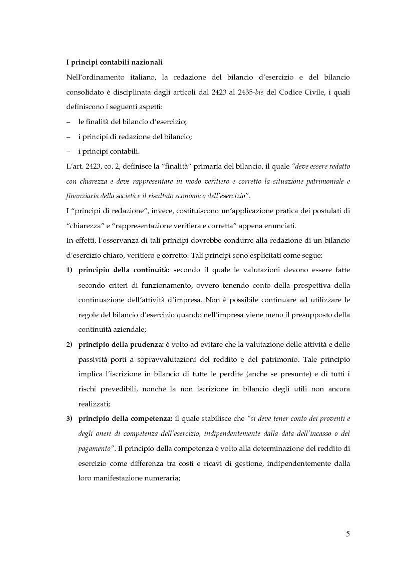 Anteprima della tesi: La capitalizzazione dei costi secondo i principi contabili nazionali e internazionali. Il caso: OLT Offshore LNG Toscana S.p.A., Pagina 3