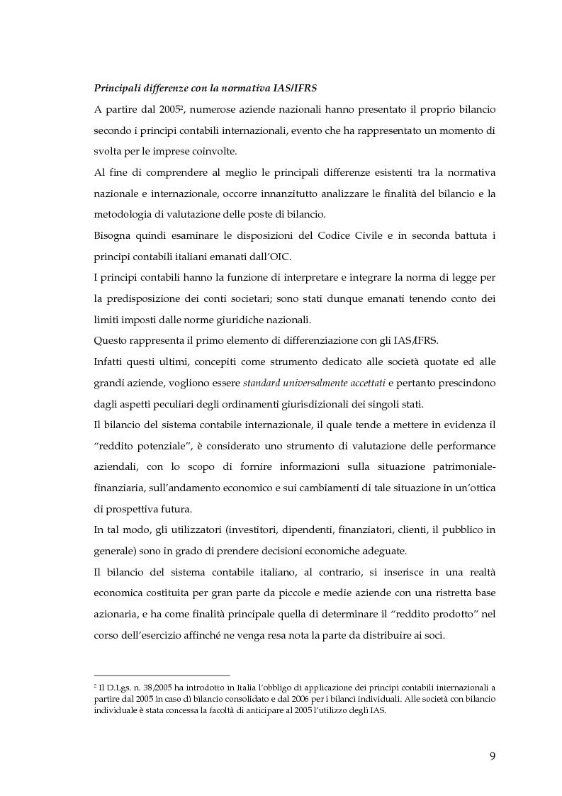 Anteprima della tesi: La capitalizzazione dei costi secondo i principi contabili nazionali e internazionali. Il caso: OLT Offshore LNG Toscana S.p.A., Pagina 7