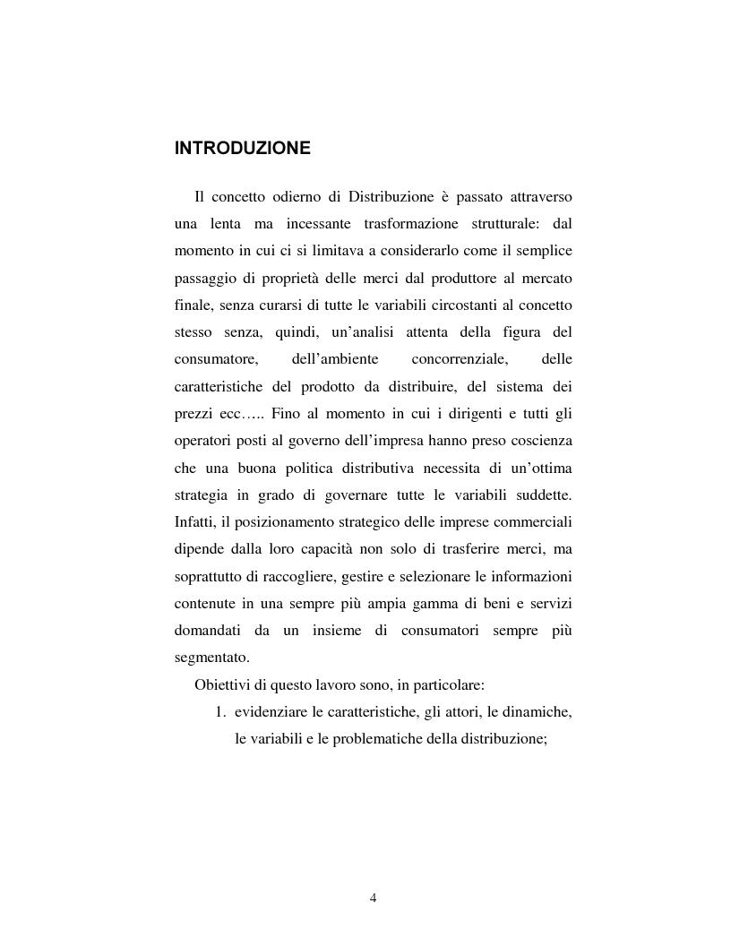 Anteprima della tesi: Problematiche nella politica distributiva delle imprese: il caso ENI, Pagina 1