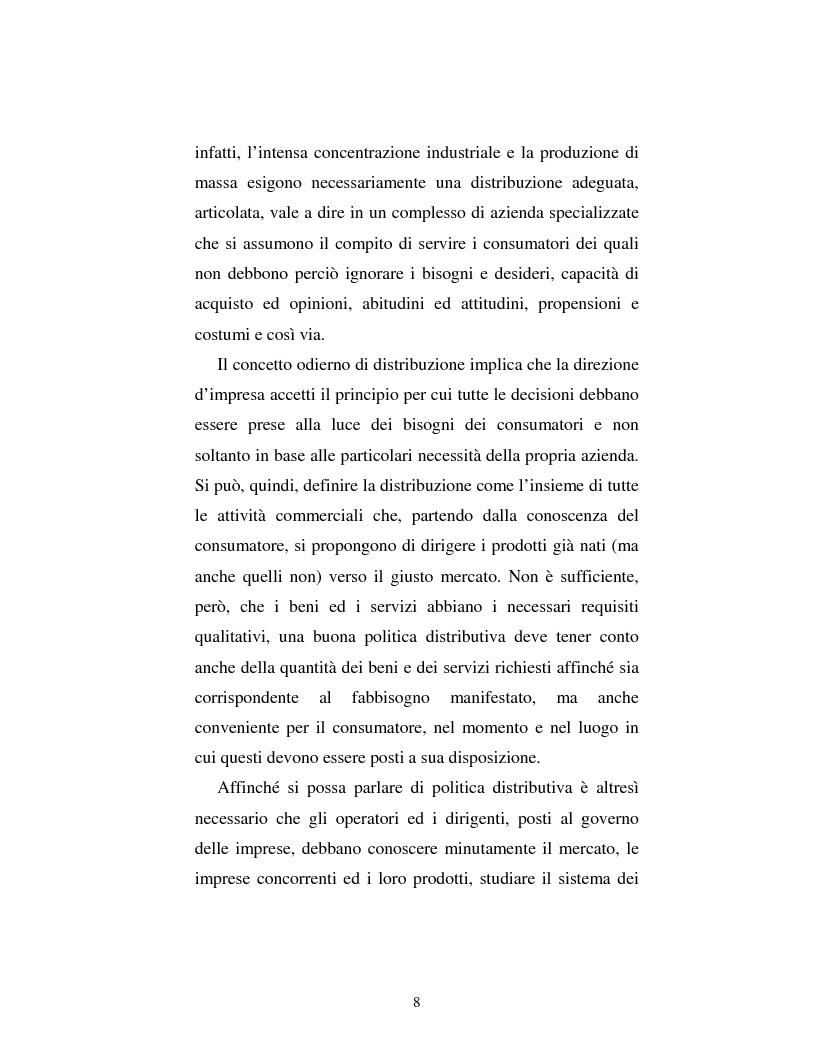 Anteprima della tesi: Problematiche nella politica distributiva delle imprese: il caso ENI, Pagina 5