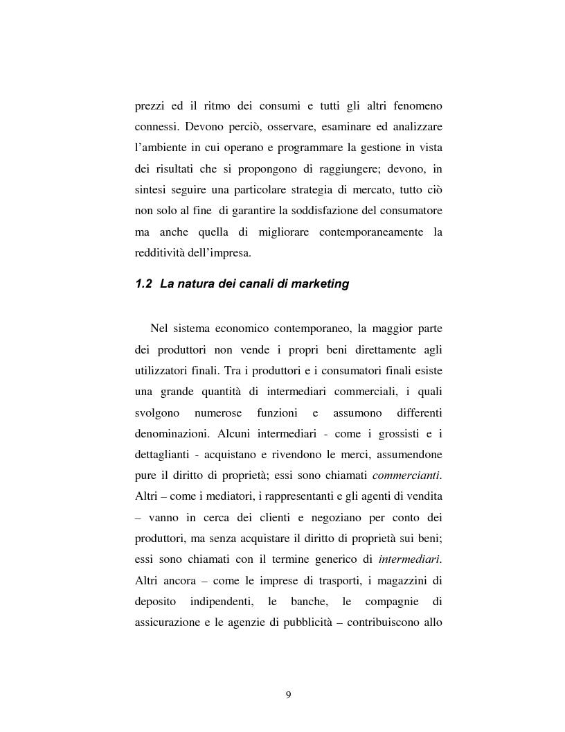 Anteprima della tesi: Problematiche nella politica distributiva delle imprese: il caso ENI, Pagina 6