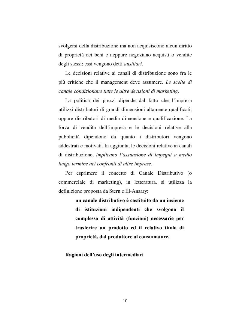 Anteprima della tesi: Problematiche nella politica distributiva delle imprese: il caso ENI, Pagina 7