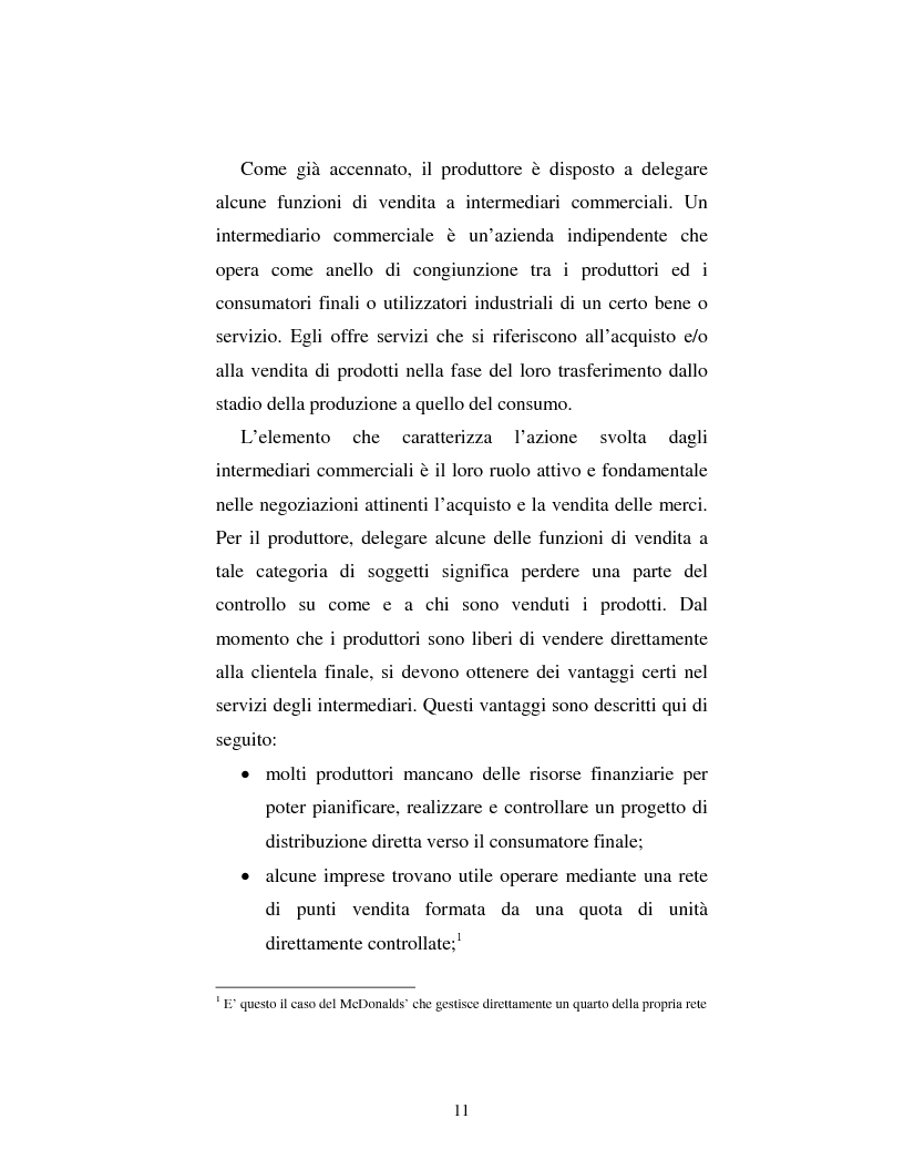 Anteprima della tesi: Problematiche nella politica distributiva delle imprese: il caso ENI, Pagina 8