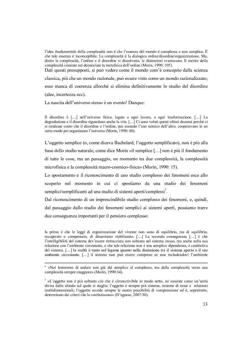Anteprima della tesi: Semplicemente complesso. Sul metodo di Edgar Morin, Pagina 3