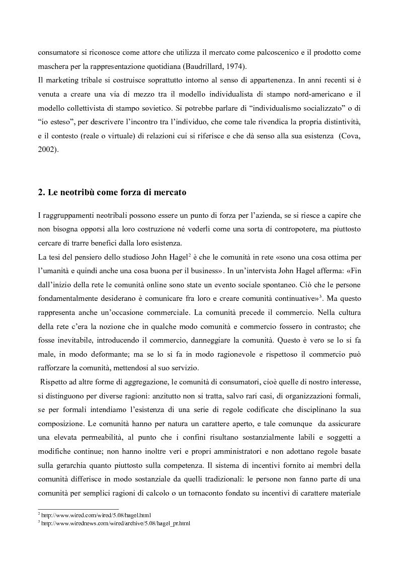 Anteprima della tesi: Il neotribalismo dell'iPod, Pagina 5
