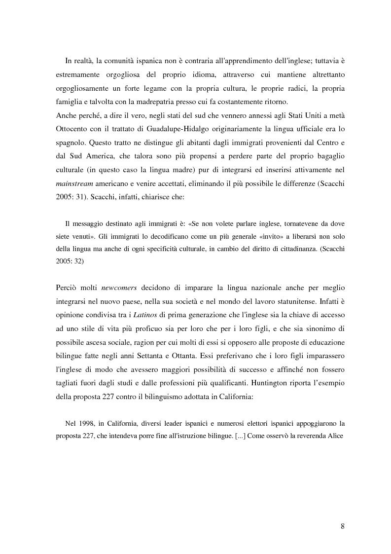 Anteprima della tesi: Commutazione e commistione di codice nel racconto Blow-up di Giannina Braschi, Pagina 10