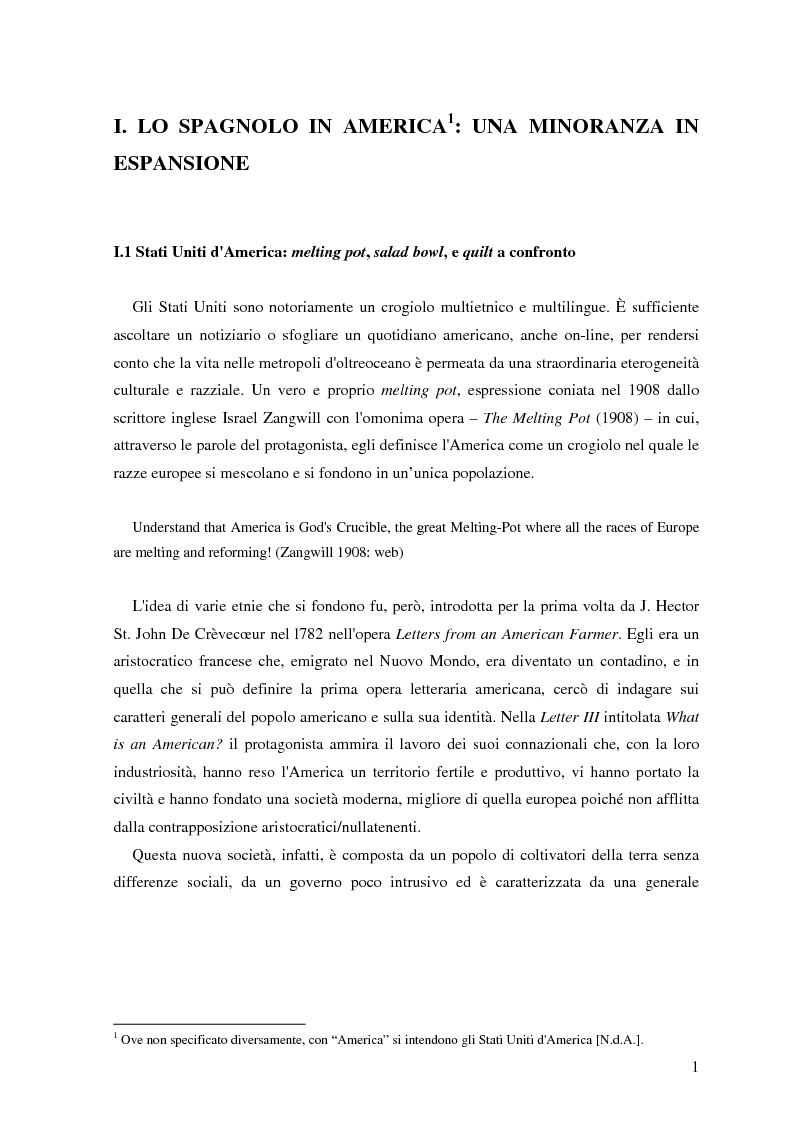 Anteprima della tesi: Commutazione e commistione di codice nel racconto Blow-up di Giannina Braschi, Pagina 3