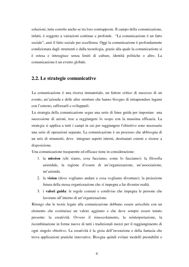 Anteprima della tesi: Comunicare i valori con gli eventi sportivi - Trasmettere i valori individuali e sociali, funzione fondamentale dello sport, Pagina 3