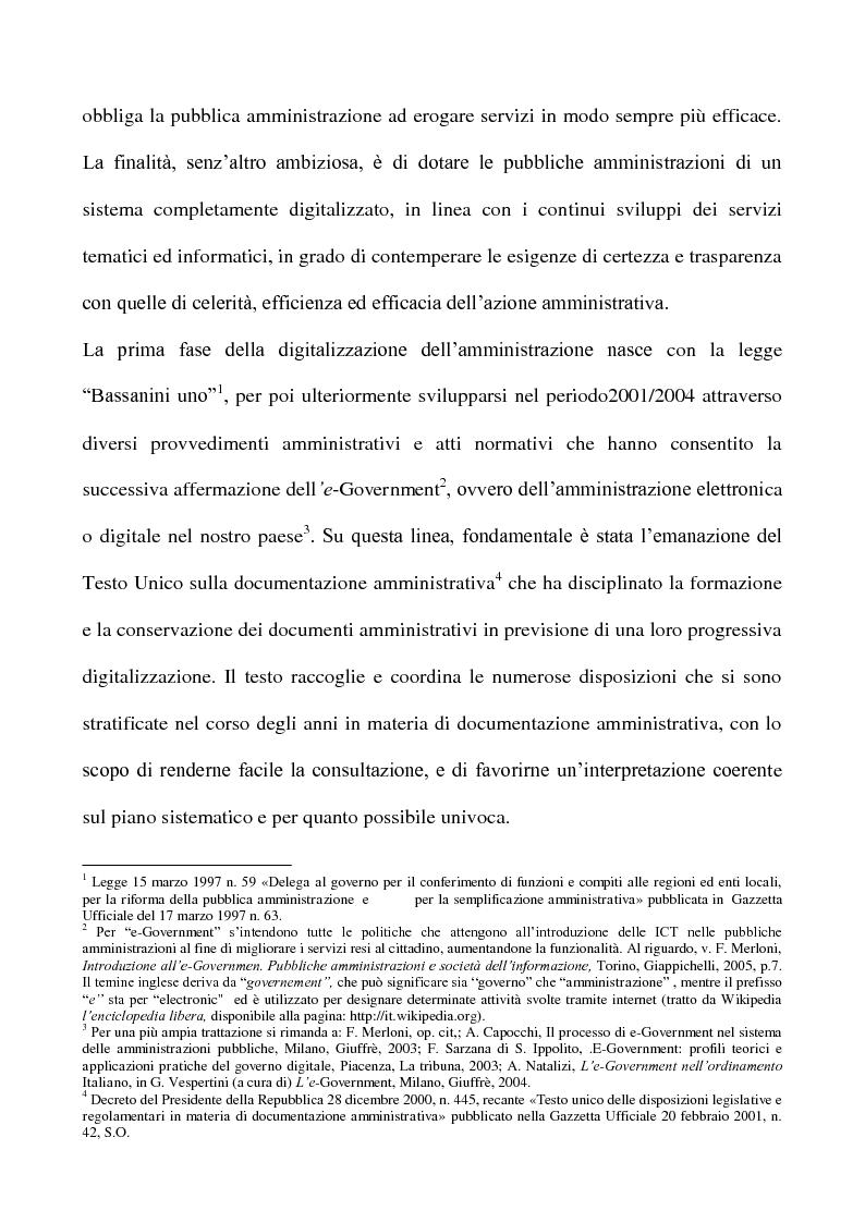 Anteprima della tesi: La posta elettronica certificata, Pagina 2