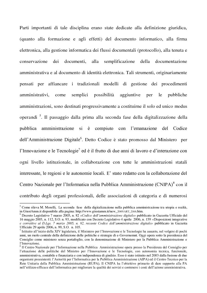 Anteprima della tesi: La posta elettronica certificata, Pagina 3