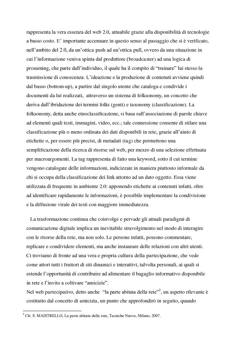Anteprima della tesi: La gestione della corporate reputation nei social media, Pagina 6