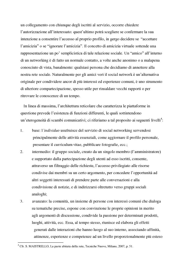 Anteprima della tesi: La gestione della corporate reputation nei social media, Pagina 9