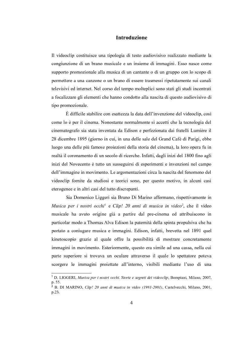 Anteprima della tesi: Sinergie audiovisive: l'avanguardia cinematografica e il video musicale, Pagina 1