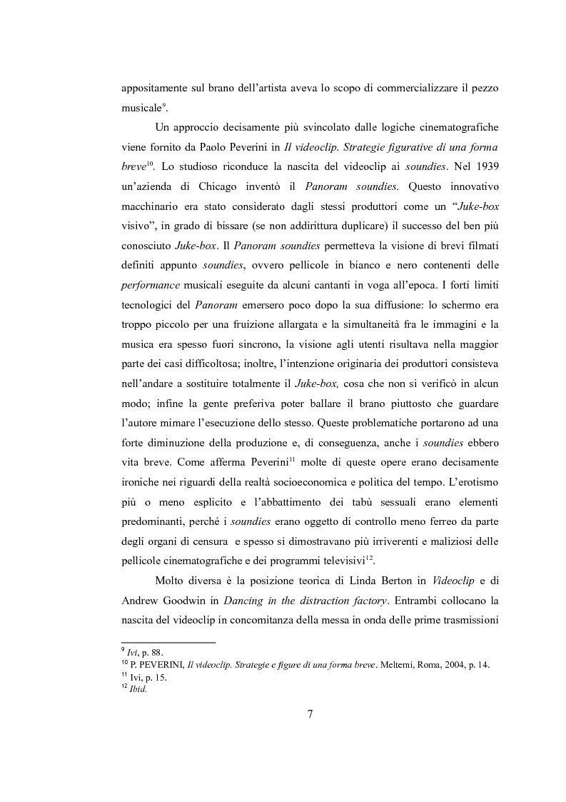 Anteprima della tesi: Sinergie audiovisive: l'avanguardia cinematografica e il video musicale, Pagina 4
