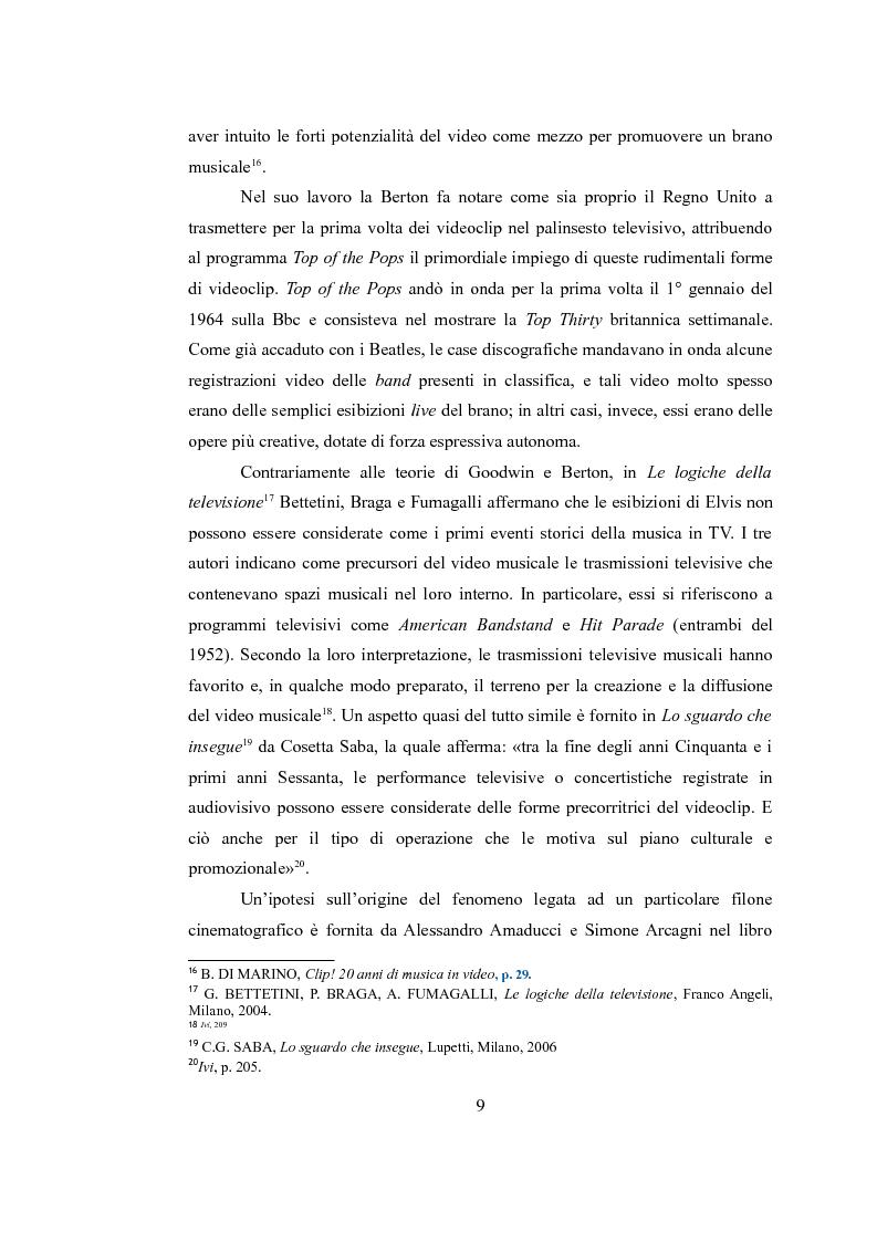 Anteprima della tesi: Sinergie audiovisive: l'avanguardia cinematografica e il video musicale, Pagina 6