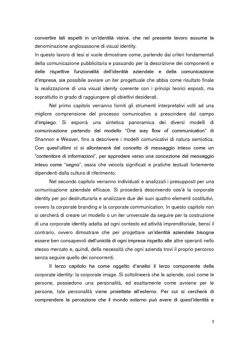 Anteprima della tesi: La visual identity aziendale: il caso Blumel, Pagina 3