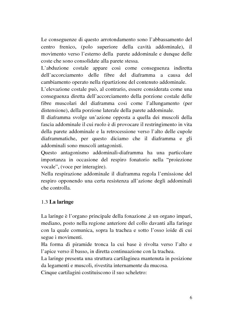 Anteprima della tesi: Le Disfonie Psicogene, Pagina 4