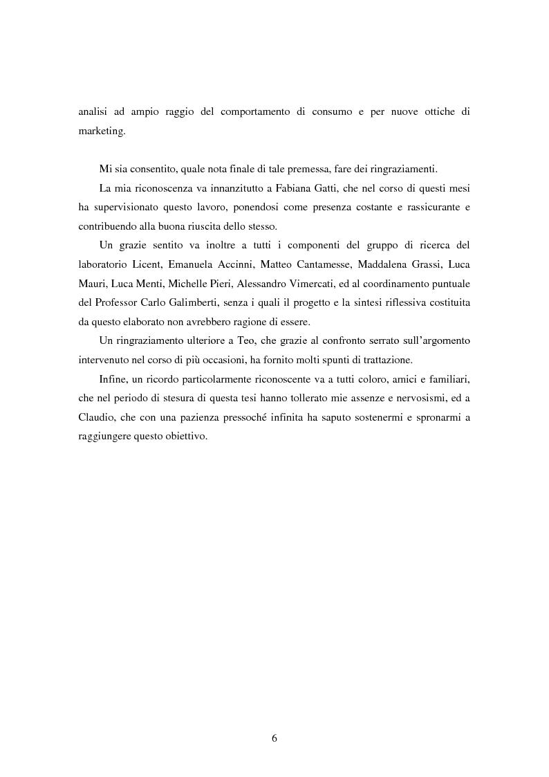 Anteprima della tesi: Modalità di sviluppo delle relazioni di fiducia nelle interazioni on line. Il caso b-to-c in contesti naturali., Pagina 4